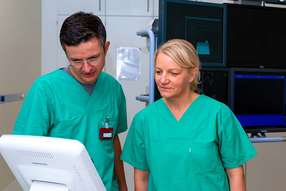 Kardiologie am Uhrenblock - Therapie